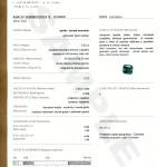 certificato Colore